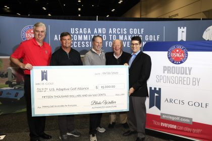 U.S. Adaptive Golf Alliance Check Presentation