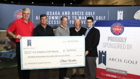 U.S. Adaptive Golf Alliance Check Presentation
